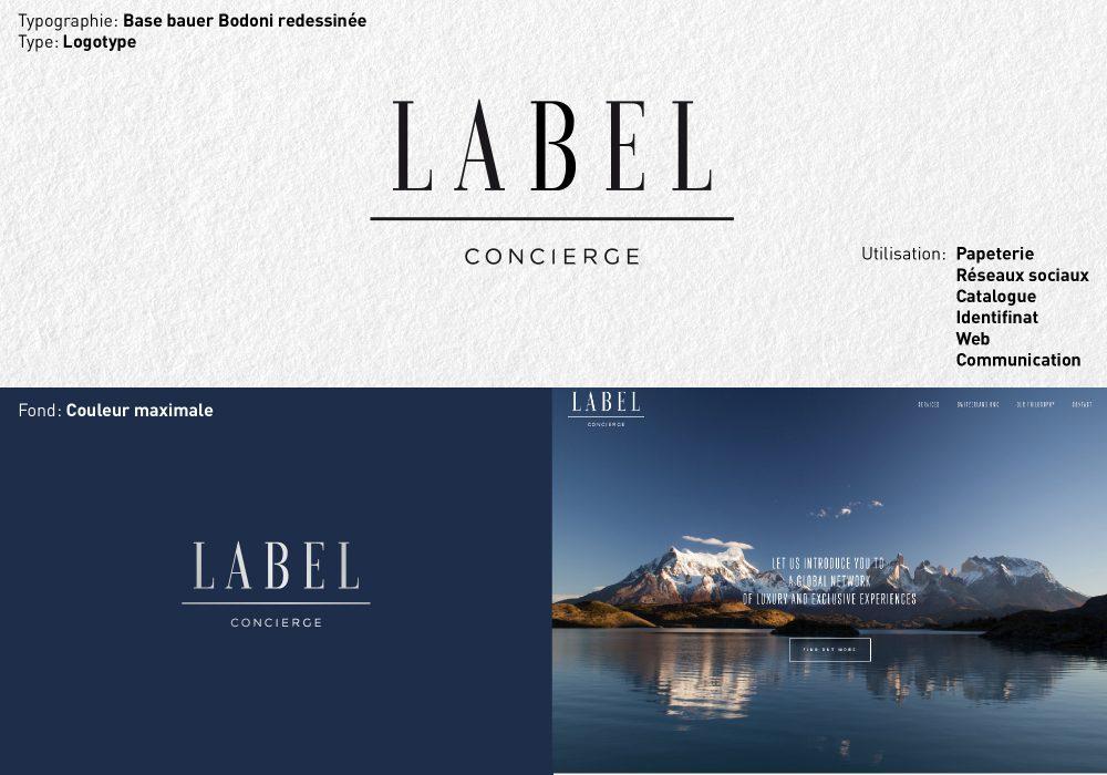 Logo Label Concierge