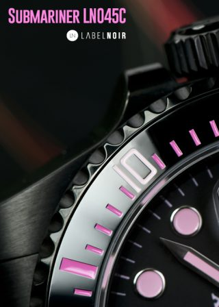 Rolex Submariner Label Noir Design